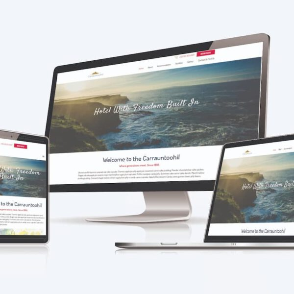 MarketingPeach demo website