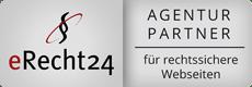 eRecht24 Agentur Partner logo